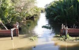 Mặn có khả năng xâm nhập sâu 40 - 50km ở ĐBSCL