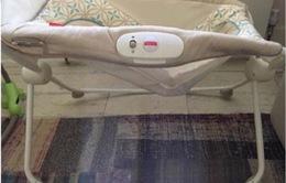 Mỹ khuyến cáo ngừng sử dụng nôi rung cho trẻ sơ sinh vì nguy cơ gây tai nạn