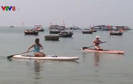 Ván chèo đứng - sản phẩm mới của du lịch biển Đà Nẵng