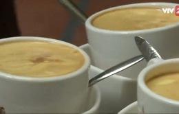 Báo nước ngoài ca ngợi cà phê trứng Việt Nam