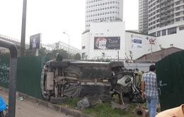 Hà Nội: Xế sang gây tai nạn liên hoàn, nhiều người bị thương
