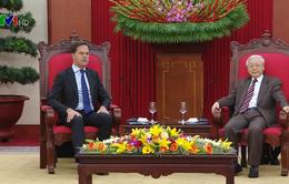 Tổng Bí thư, Chủ tịch nước Nguyễn Phú Trọng tiếp Thủ tướng Hà Lan