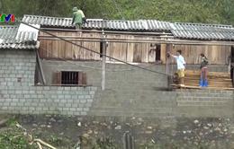 Gần 200 nhà bị tốc mái do gió lốc tại Bắc Kạn, Lai Châu