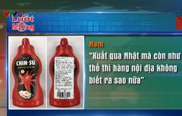 Axit benzoic trong tương ớt Chinsu có ảnh hưởng xấu đến sức khỏe?