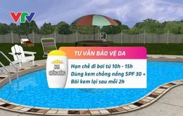 Bảo vệ da khi đi bơi trong thời tiết nắng nóng