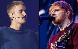 Ed Sheeran và Justin Bieber phối hợp trong sản phẩm mới