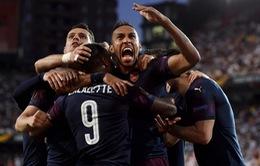 Valencia 2-4 (3-7) ARSENAL: Thắng thuyết phục, Pháo thủ giành quyền vào chung kết UEFA Europa League