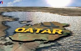 Máy bay ném bom B-52 của Mỹ đến Qatar