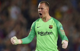 Barcelona không có thủ môn số 1 ở chung kết Cúp Nhà Vua