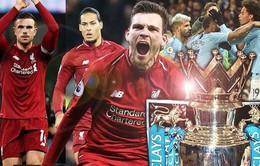 Lịch thi đấu Ngoại hạng Anh vòng 38: Kịch tính cuộc đua ngôi vô địch Man City và Liverpool
