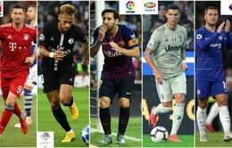 CẬP NHẬT Lịch thi đấu, kết quả, BXH các giải bóng đá VĐQG châu Âu cuối tuần: Sôi động Ngoại hạng Anh, La Liga, Serie A, Bundesliga, Ligue I