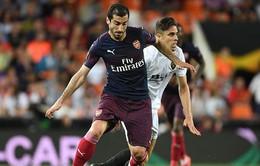 Arsenal có thể bị thiệt quân trước trận chung kết Europa League