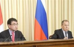Nga - Nhật Bản thảo luận về hợp tác kinh tế ở quần đảo tranh chấp