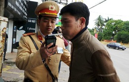 Hà Nội tiếp tục tăng cường kiểm tra nồng độ cồn, ma túy của tài xế