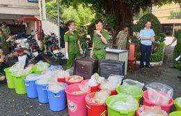 Phát hiện kho chứa 500kg ma túy do đối tượng người Trung Quốc cầm đầu