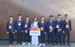Cả 8 em thi Olympic Vật lí châu Á 2019 đều đoạt giải