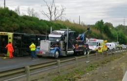 Lật xe bus ở Chi Lê, ít nhất 46 người thương vong
