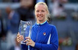 Kiki Bertens giành chức vô địch đơn nữ Madrid mở rộng 2019