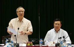 Đoàn Tiểu ban Văn kiện Đại hội XIII làm việc với Ban cán sự đảng Bộ Ngoại giao