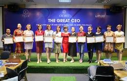 The Great CEO: Buổi chia sẻ mang tư duy khác biệt và sáng tạo trong kinh doanh