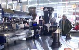 Robot pha cà phê tại Ukraine