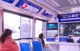 Xe bus kết nối mạng 5G tại Trung Quốc