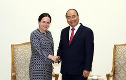 Thủ tướng Nguyễn Xuân Phúc tiếp Quốc vụ khanh Bộ Ngoại giao Romania