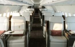 """Hé lộ hình ảnh """"sang chảnh"""" bên trong máy bay Airbus của Four Seasons"""