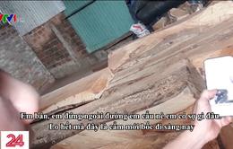 """Thâm nhập """"chợ"""" gỗ lậu trên cao nguyên"""
