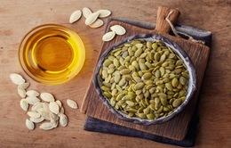 8 lợi ích sức khỏe kỳ diệu của hạt bí ngô