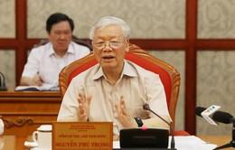 Tổng Bí thư, Chủ tịch nước Nguyễn Phú Trọng chủ trì họp Bộ Chính trị