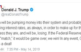Tổng thống Mỹ kêu gọi FED hạ lãi suất