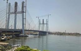 Ai Cập khánh thành cây cầu treo rộng nhất thế giới