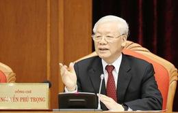 VIDEO: Tổng Bí thư, Chủ tịch nước Nguyễn Phú Trọng phát biểu khai mạc Hội nghị Trung ương 10, khóa XII