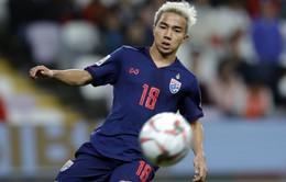 Chanathip Songkrasin không về ĐT Thái Lan tập trung ở vòng loại World Cup 2022