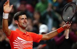 Djokovic, Nadal và Federer giành quyền vào tứ kết Rome Masters 2019