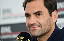 Tứ kết Rome Masters 2019: Roger Federer rút lui vì chấn thương