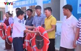Quảng Ngãi: Tập huấn xử lý tình huống cấp cứu trên biển