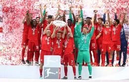Thắng đậm Frankfurt, Bayern Munich vô địch Bundesliga 2018/19