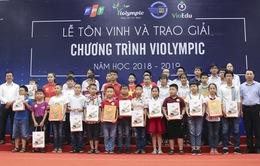 Hơn 2.000 học sinh đạt giải cuộc thi giải Toán và Vật lý qua Internet Violympic 2018 – 2019
