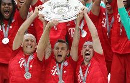 """""""Đôi cánh thiên thần"""" mãn nguyện chia tay Bayern Munich"""