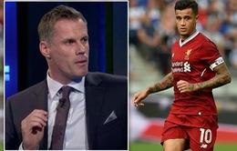 Jamie Carragher khuyên Liverpool nên mua lại Coutinho