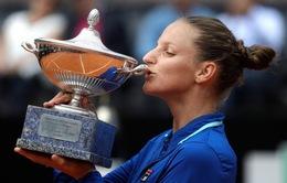 Karolina Pliskova vô địch giải quần vợt Rome mở rộng 2019