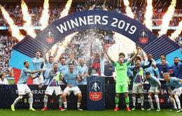 """Man City 6-0 Watford: Đại tiệc bàn thắng, hoàn tất """"cú ăn 3"""" quốc nội"""