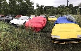 Không kịp trả tiền thuê kho, 15 siêu xe bị quẳng thẳng ra vườn