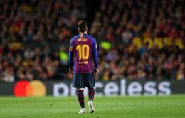 Lập cú đúp vào lưới Liverpool, Messi đạt mốc 600 bàn thắng trong màu áo Barcelona