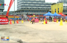 Cuộc đua xe thăng bằng của trẻ em