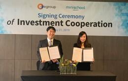 Egroup đầu tư vào startup giáo dục Hàn Quốc, độc quyền phát triển tại nhiều thị trường