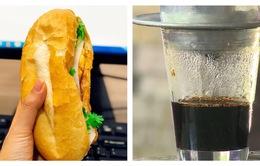 Người Việt chuộng bánh mì và cà phê cho bữa sáng