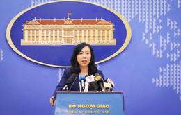 Phản ứng của Việt Nam trước việc nhóm tàu Hải Dương 8 của Trung Quốc rút khỏi vùng biển Việt Nam